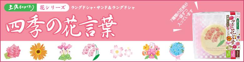 土佐物語 花シリーズ『四季の花言葉』
